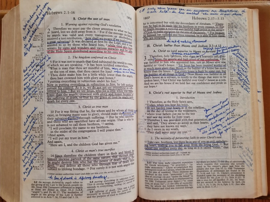 Introduction: Letter to the Messianic Jews (Hebrews) – My Heart is